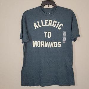 NWT JEM Collective Allergic to Mornings Tshirt